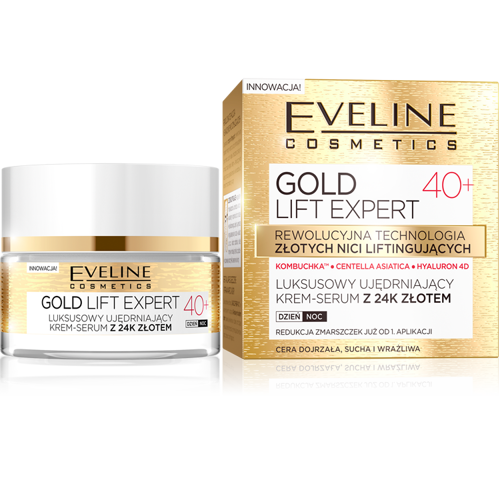 bec1a44236f Eveline - Gold Lift 40+ - Luxury NIGHT and DAY CREAM with 24k gold for dry,  sensitive skin 50ml 5901761941937 | For HER: \ Face \ Creams | cosmetics  for ...