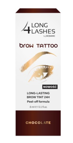 e004da44447 Long 4 Lashes BROW TATTOO - Long Lasting Brow Tint 24h - Eyebrow gel  CHOCOLATE 8ml 5900116038933 | For HER: \ Make Up | cosmetics for every Body  | Yanca