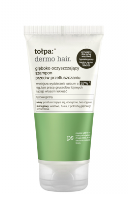 Tołpa - Dermo Hair - SHAMPOO deep cleansing without SLS against oily hair  for oily hair MINI 50ml