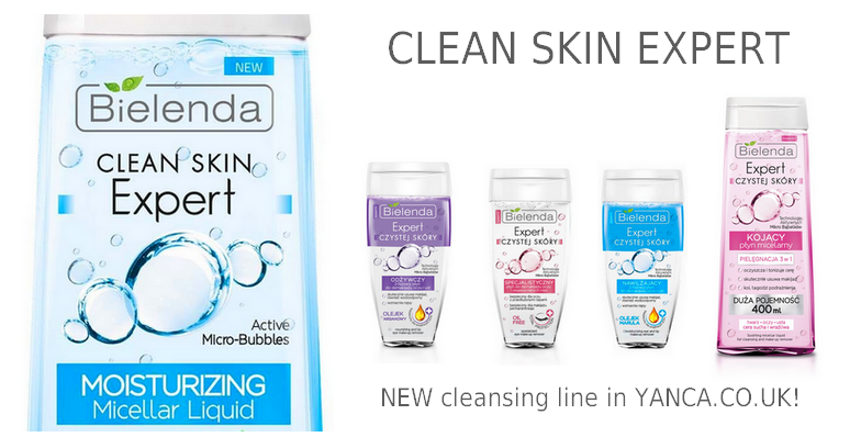 Bielenda CLEAN SKIN EXPERT - NEW in YANCA.CO.UK!