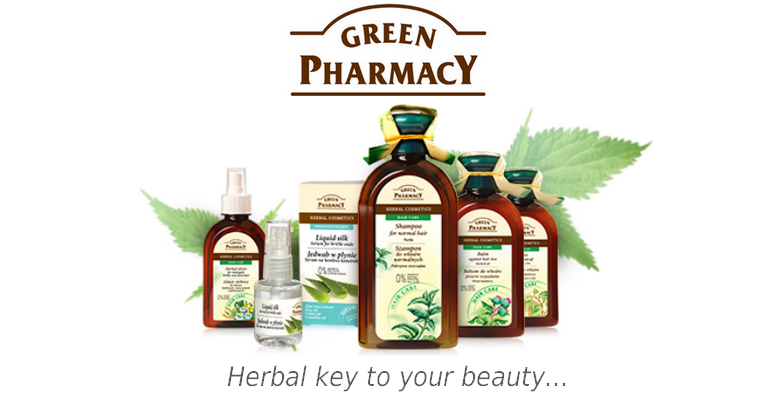 Green Pharmacy in YANCA.CO.UK - herbal key to your beauty!