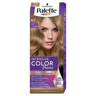 Palette - Intensive Color Creme - Coloring CREAM N7 LIGHT BROWN 50ml ...