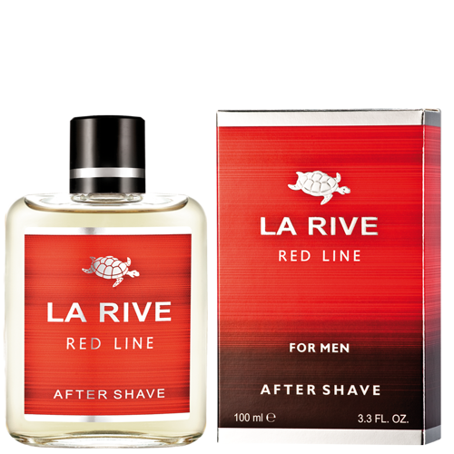 Wspaniały La Rive - RED LINE - After SHAVE (SIMILAR TO Lacoste Red) 100ml CM41