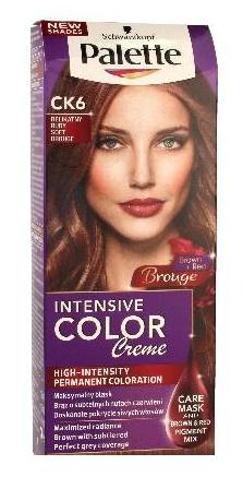 Palette - Intensive Color Creme - Coloring CREAM CK6 50ml ...
