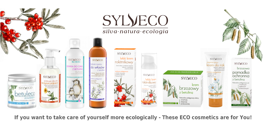 ECO CARE for hair, face and body - we have everything you need! |SYLVECO in yanca.co.uk|