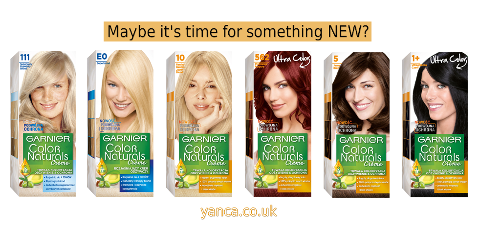 GARNIER COLOR NATURALS - Try new hair color for autumn! |yanca.co.uk|