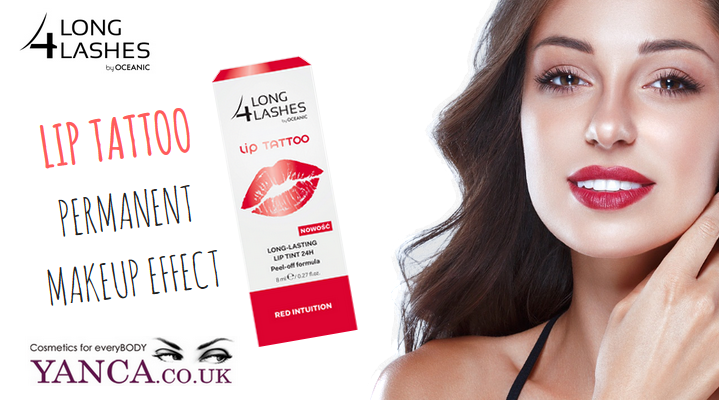 PERMANENT MAKEUP EFFECT WITH LONG 4 LASHES now in yanca.co.uk!