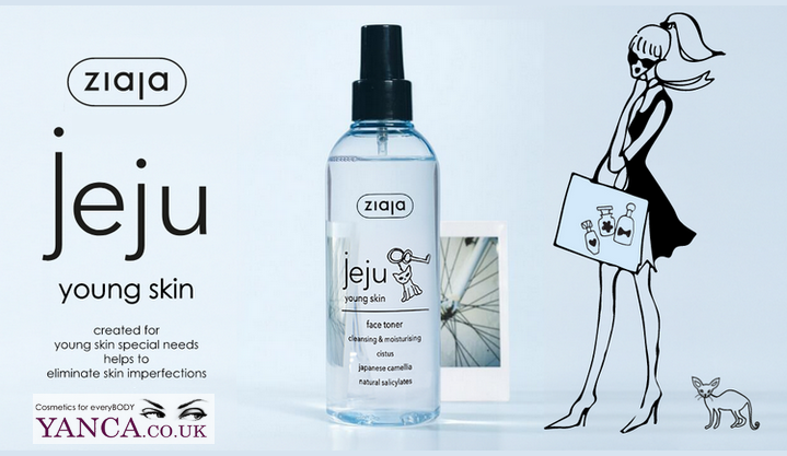 [NEW IN] ZIAJA JEJU FOR YOUNG SKIN YANCA.CO.UK
