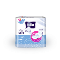 Bella - Perfecta Ultra BLUE - Ultra thin sanitary pads 10 5900516301125