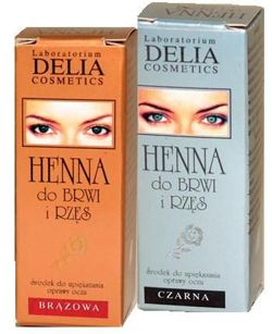 Delia - TRADITIONAL Henna eyebrow BRONZE 5906750806853