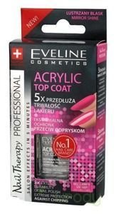 Eveline - Nail Therapy Professional - ACRYLIC TOP COAT 12ml ...
