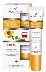 Flos Lek - Gels under the eyes - Gel with arnica for bruises and swelling under eyes 15ml 5905043002187