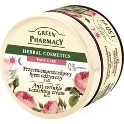 Green Pharmacy - Anti-wrinkle, vanishing cream ROSE for mature, sagging and damaged skin 150 ml 5904567052654