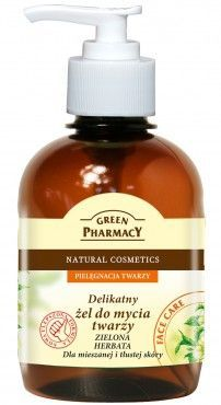 Green Pharmacy - Gentle gel face cleanser GREEN TEA for combination and oily skin 270ml 5904567050131