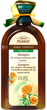 Green Pharmacy - MARIGOLD SHAMPOO for normal and greasy hair 350ml 5904567050247