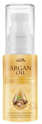 Joanna - Argan Oil - SILK ELIXIR for dry and damaged hair 30 ml 5901018010850