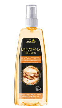 Joanna - Keratyna - SPRAY CONDITIONER for coarse, dull and damged hair 150 ml 5901018011772