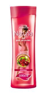 Joanna - Naturia Body - Shower gel with CHERRY and REDCURRANT 300 ml 5901018001544