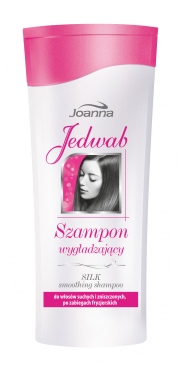 Joanna - Silk - Smoothing SHAMPOO for dry and damaged hair or after hairdressing treatments 200ml 5901018005887