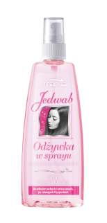 Joanna - Silk - Smoothing SPRAY for dry and damaged hair or after hairdressing treatments 150ml 5901018005924
