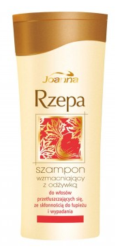 Joanna - Turnip - SHAMPOO with CONDITIONER 2 in 1 for greasy and brittle hair (red) 200ml 5901018000356