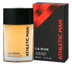 La Rive - ATHLETIC MAN - Eau de Toilette EDT (SIMILAR TO Adidas Active Bodies) 90ml 5906735234015