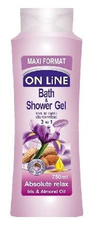 ON Line - Bath & Shower liquid ABSOLUTE RELAX 750ml 5903116733600