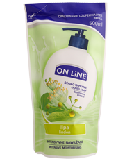 ON Line - Creamy liquid SOAP LIDEN & WHITE TEA ADDITIONAL PACKAGE 500ml 5903116708523