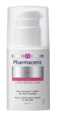 Pharmaceris R - LIPO-ROSALGIN  - MULTI-SOOTHING FACE DAY CREAM for dry, normal and sensitive skin SPF15 30ml 5900717144415