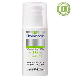 Pharmaceris T - SEBO-ALMOND PEEL - NIGHT CREAM WITH 5% MANDELIC ACID – 1st degree of exfoliation 50 ml 5900717142718