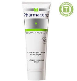 Pharmaceris T - SEBOMATT-MOISTATIC - MOISTURIZING AND SOOTHING FACE CREAM SPF 30 for use during and after anti-acne treatments 50 ml 5900717142619