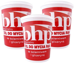 Pollena Ostrzeszów - Bhp Gel For Cleaning Hands Formula With Glycerin And Abbrasive 500g 5900133001774