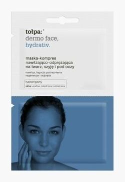 Tołpa - Dermo Face Hydrativ - Moisturizing relaxing MASK-KOMPRES for face, neck and eye 2x6ml 5900107008174
