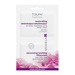 Tołpa - Dermo Face MODELAR 50+ - Rejuvenating restorating MASK-LIFTING for  face, chin, neck, shoulders and bust 2x6ml 5900107006163