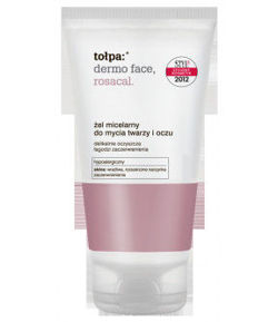 Tołpa - Dermo Face Rosacal - Washing face and eye MICELLAR GEL for sensitive, redness skin adn skin with capillaries 150ml 5900107008419