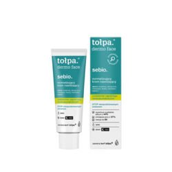 Tołpa - Dermo Face SEBIO - LIGHT mattifying correcting DAY CREAM for sensitive,  mixed, oily, acne skin and skin with imperfections 40ml 5900107005333
