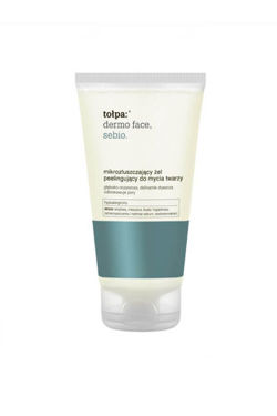 Tołpa - Dermo Face SEBIO - Micro-exfoliating, peeling FACE GEL for sensitive, mixed,  oily, acne skin and skin with imperfections 150ml 5900107005340