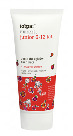 Tołpa - Expert Junior - Toothpaste red fruits 6-12 years 50ml 5907608610530