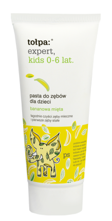 Tołpa - Expert Kids - Toothpaste 0-6 years with banana mint 50ml 5907608610523