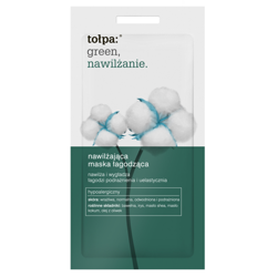 Tołpa - Green Hydration - Moisturizing soothing MASK for  sensitive, dehydrated, irritated and normal skin 2x6ml 5907608613005