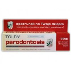 Tołpa - Parodontosis Eco - TOOTHPASTE against periodontitis and bleeding gums 75ml 5900107003377