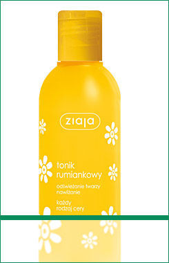 Ziaja - Camomile - Face TONER for all skin type 200ml 5901887003977
