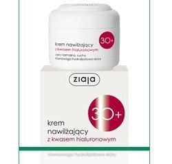 Ziaja - Cleanser 30+ - Moisturizing CREAM with hyaluronic acid for normal and dry skin 50ml 5901887019435