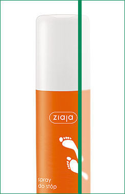 Ziaja - Feet - Deodorizer footspray for antifungal protect 100ml 5901887002796