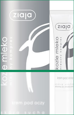 Ziaja - Goat's Milk - EYE CREAM for dry skin 15ml 5901887003182