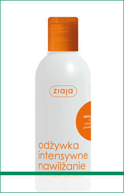 Ziaja - Intensive Hair Care - Intense moisture CONDITIONER with wheat germ, aloe vera, wit. A, E priwit. B5 for dry hair 200ml 5901887003649
