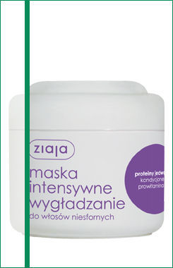 Ziaja - Intensive Hair Care - MASK - Intensive smoothing unruly hair 200ml 5901887020271