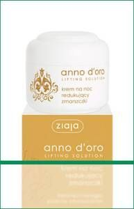 Ziaja - Lifting Solution 40+ - Anti-wrinkle NIGHT cream for mature skin 50ml 5901887005032