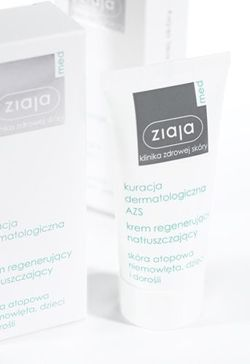 Ziaja Med - AD Atopic Dermatitis - Regenerating CREAM oiling the skin atopic for infants, children and adults 50ml 5901887027942