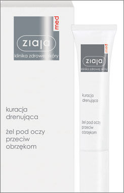 Ziaja Med - Drainage Treatment - Eye GEL against puffiness 15ml 5901887009146
